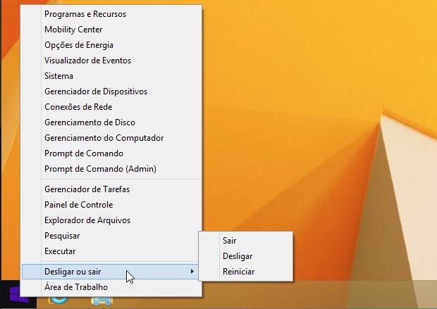 Windows 8 - Botão Iniciar