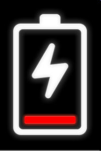 Bateria vazia