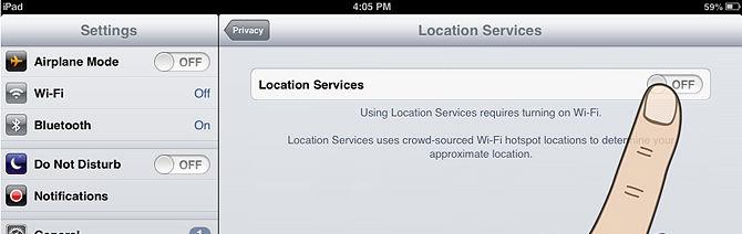 iphone/ipad - GPS
