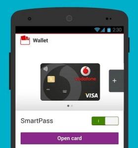 Vodafone-Wallet